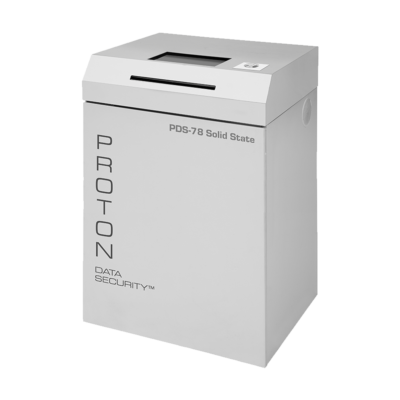Proton PDS-78 Solid State (SSD) Media Shredder for Office/Data Ctr (20-PDS-78)